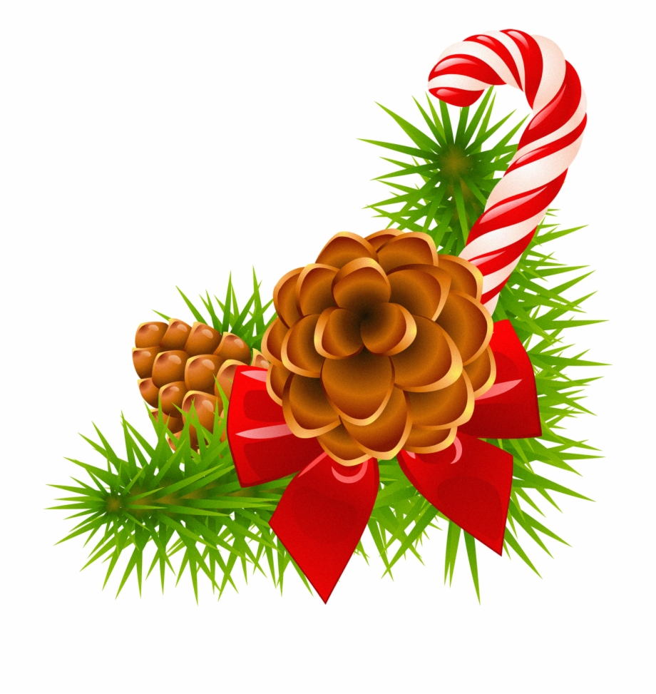 Holydays Clipart Pinecone.