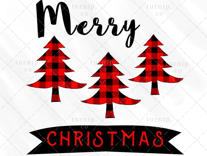 Christmas Tree PNG Sublimation Design Clipart Graphic X by.
