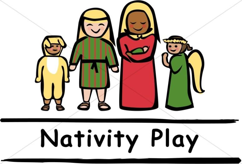 Nativity Play Clipart.
