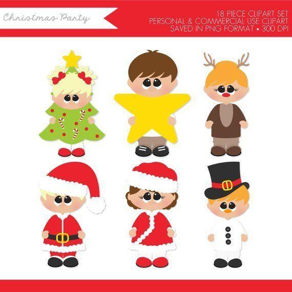 Christmas Kids Clipart,Christmas Clipart,Christmas Children Clipart.