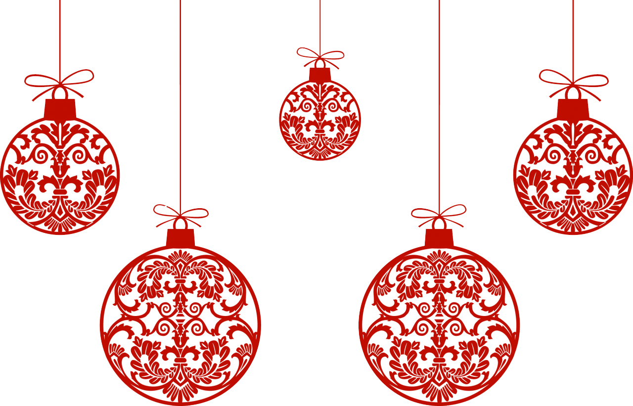 Download Christmas Ornaments HQ PNG Image.