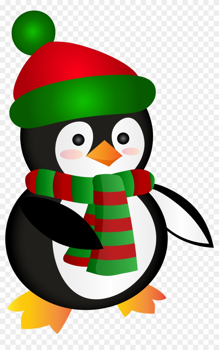 Free Png Cute Christmas Penguin Png.