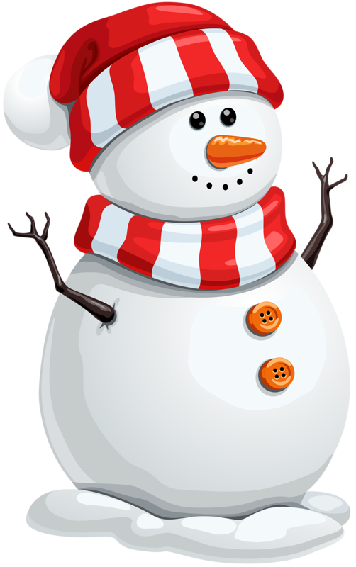 Download Snowman Cute Claus Decoration Santa Christmas HQ PNG Image.