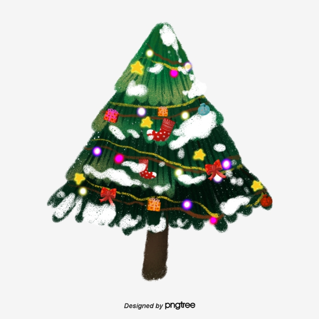 Christmas Tree PNG Images.