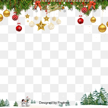 Christmas Frame PNG Images.