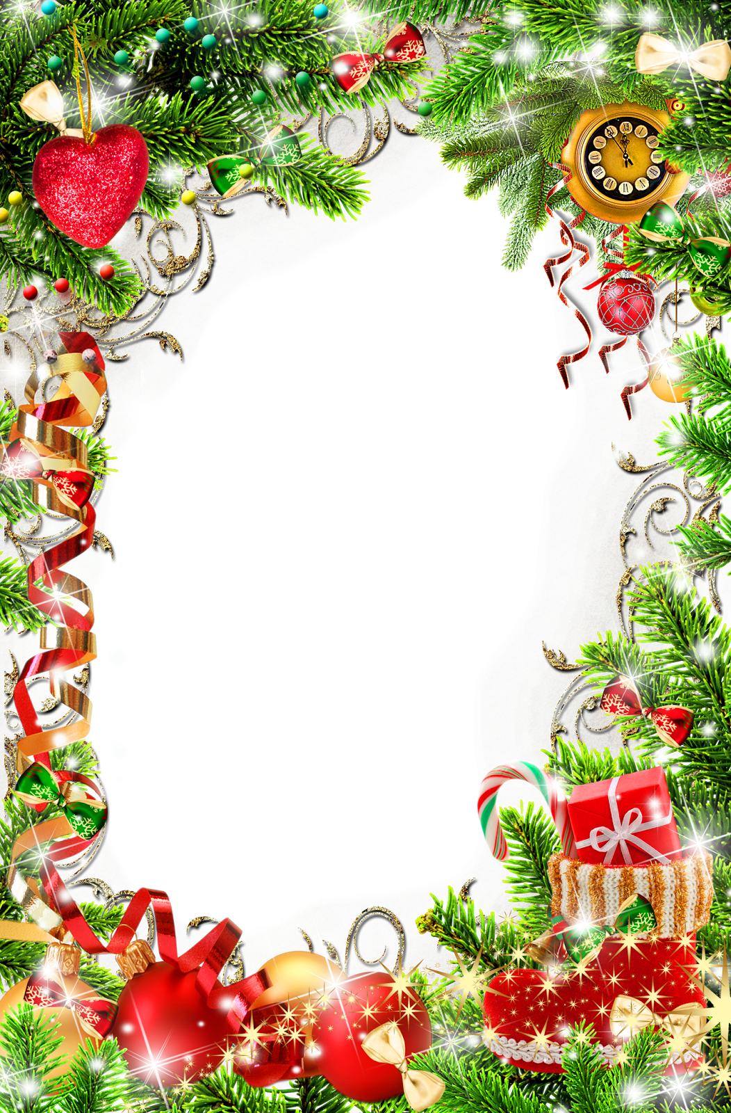HD Christmas Png Frames Free , Free Unlimited Download #417319.