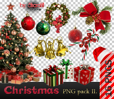 Christmas PNG pack II. by Sharah11 on DeviantArt.