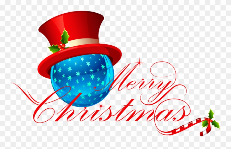 Merry Christmas Free Png Transparent Background Images.