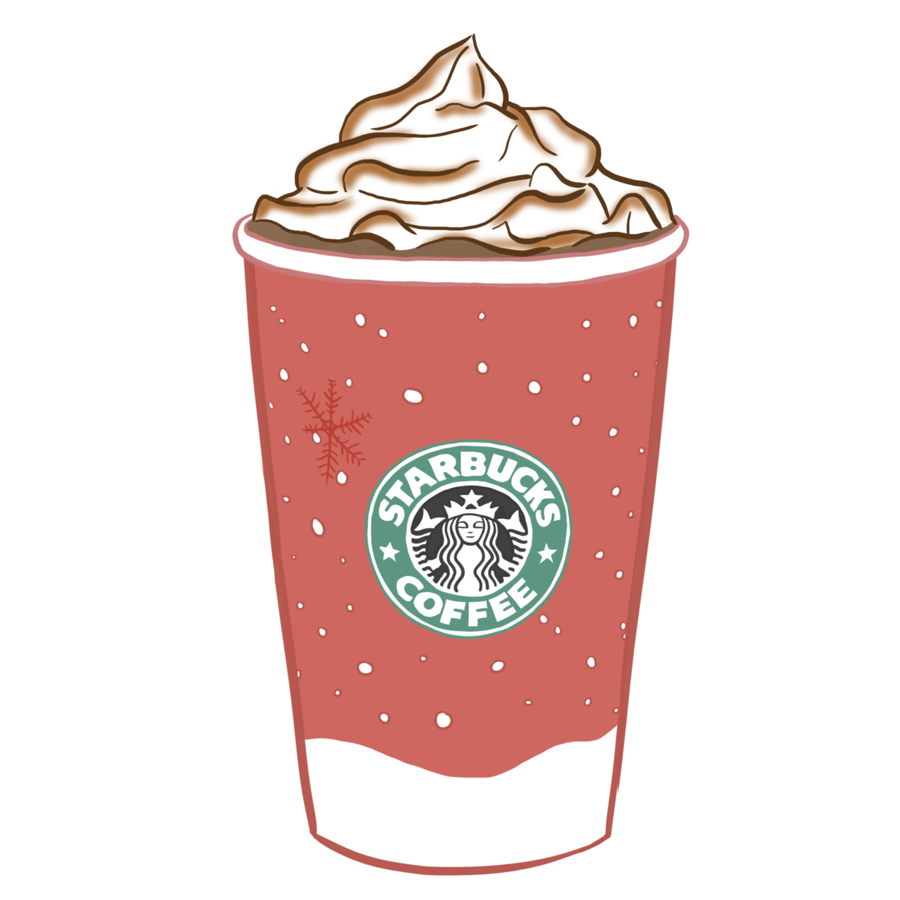 Images For > Starbucks Transparent Tumblr Pink.