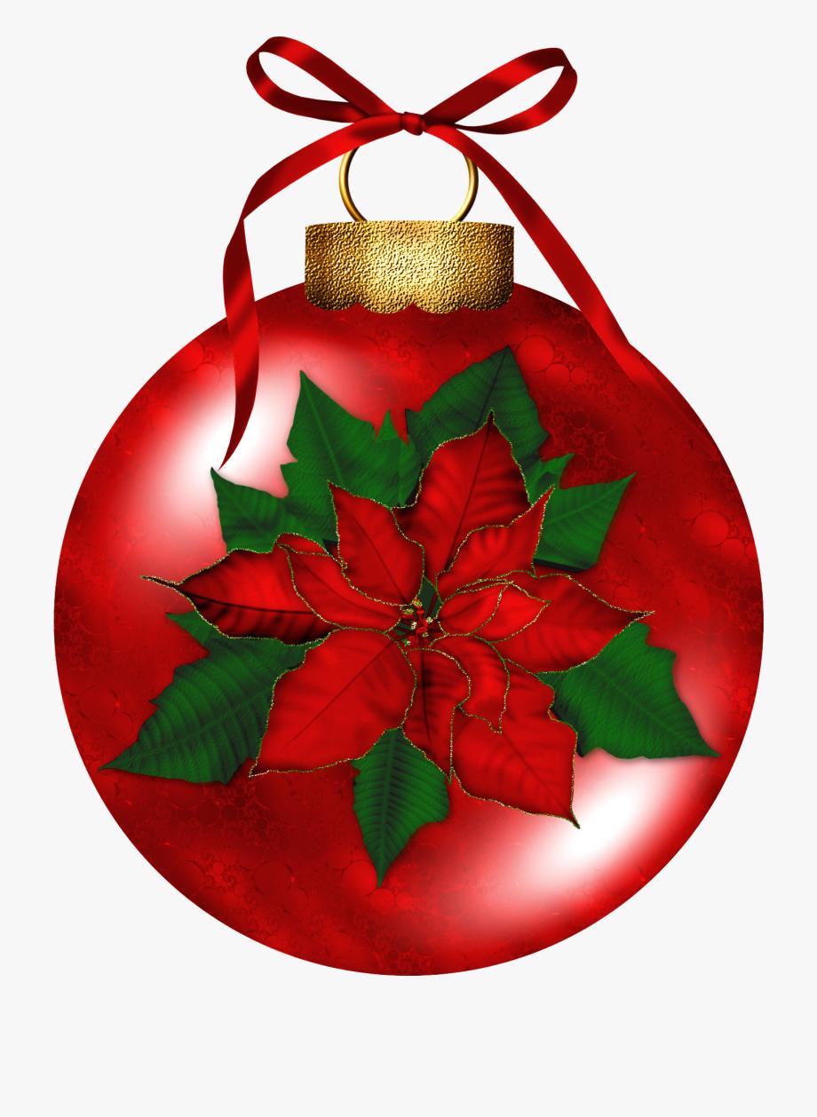 Christmas Ornaments Clipart Holly.