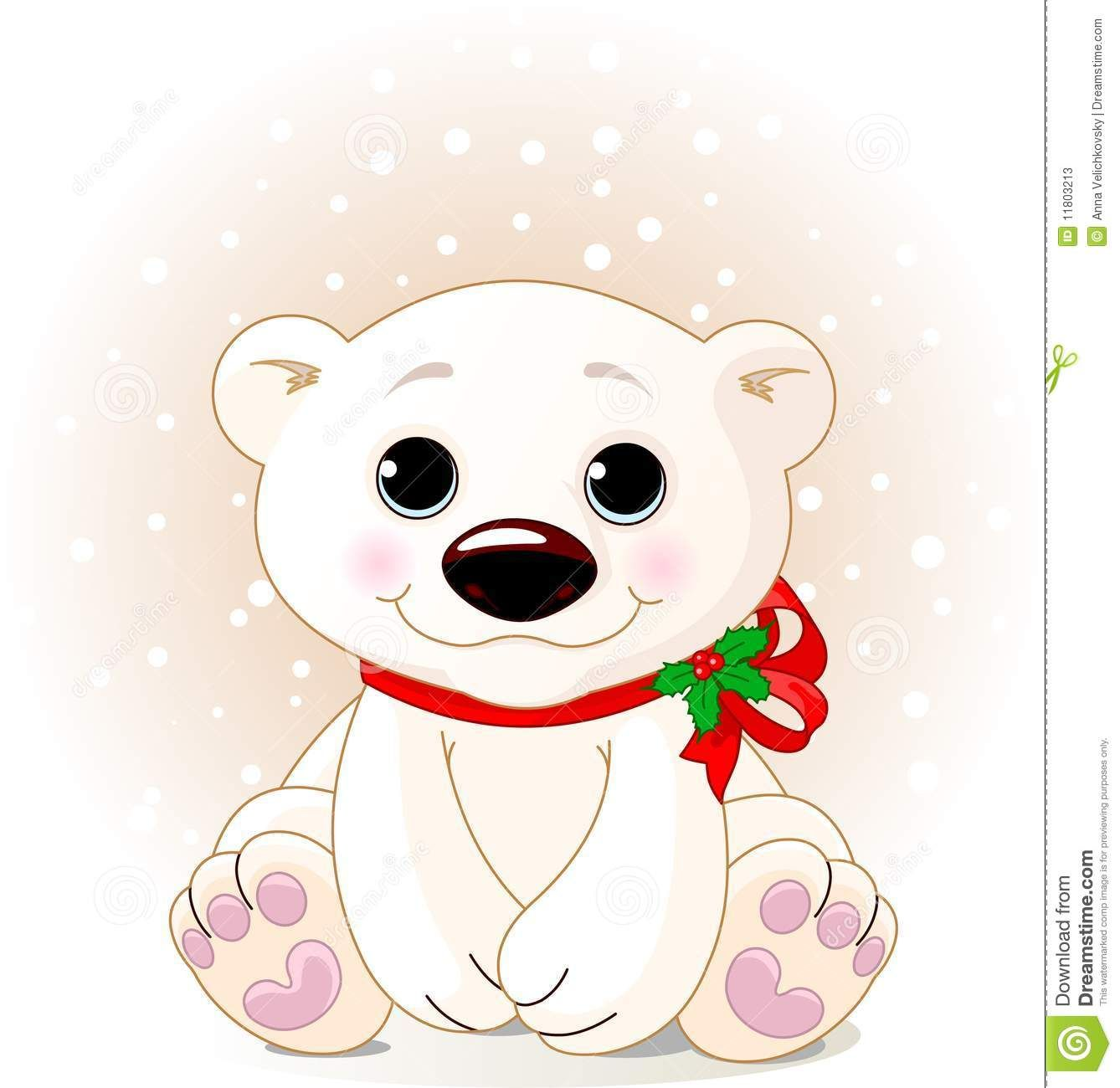 christmas polar bears.