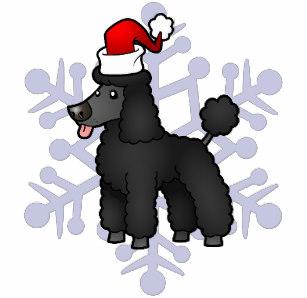 Christmas Poodle T.