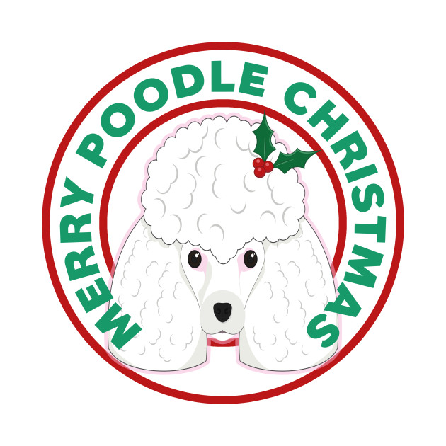 Merry Christmas Poodle.