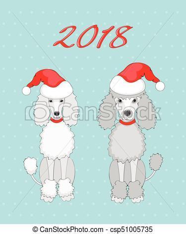 Christmas poodle clipart 2 » Clipart Portal.