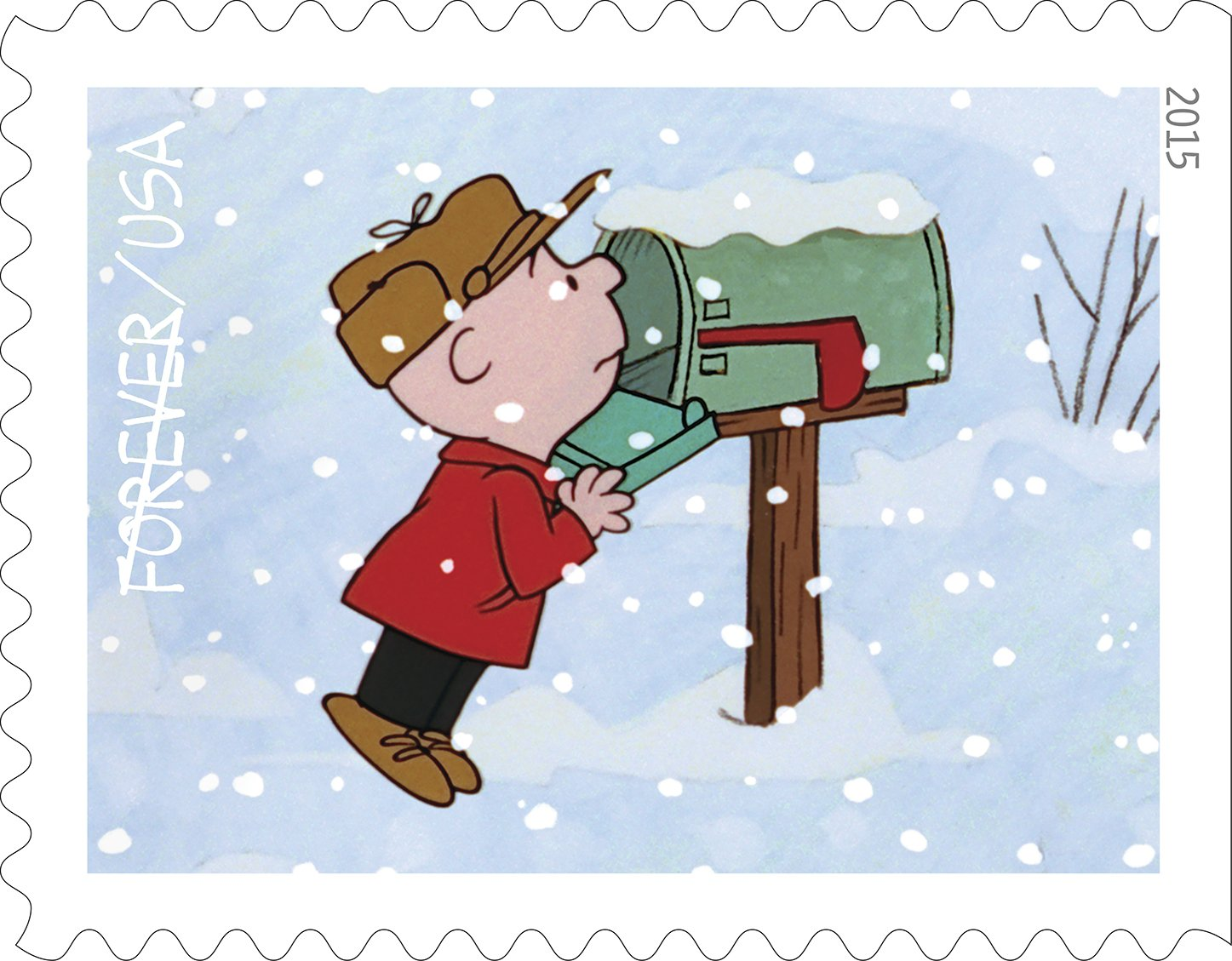 USPS to sell 'A Charlie Brown Christmas' stamps.