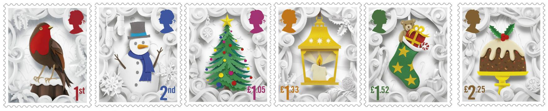 Christmas Stamps 2016.