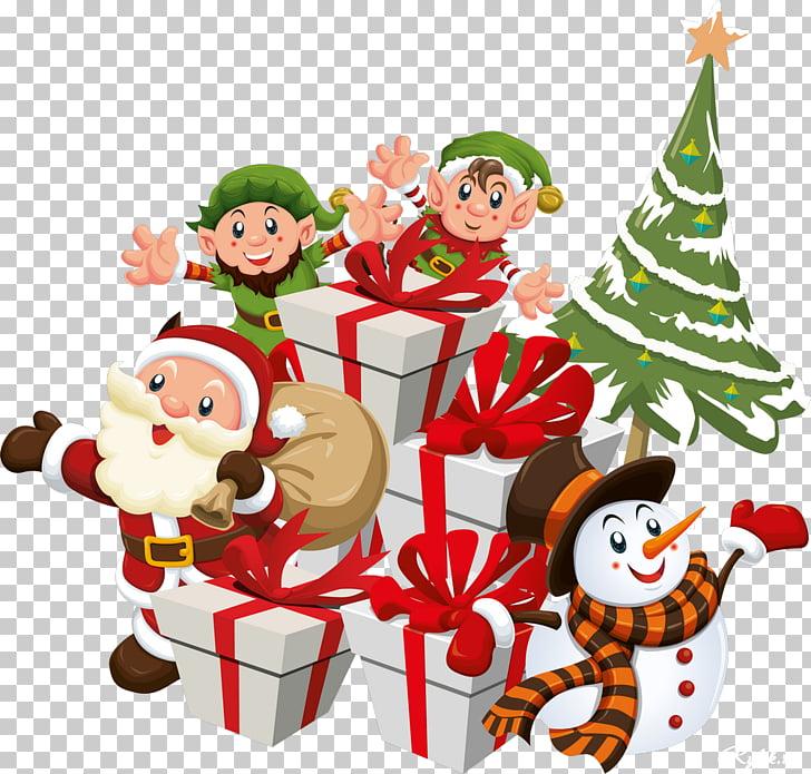Santa Claus Christmas Poster, santa claus PNG clipart.