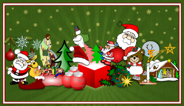 Great new Christmas Clipart for your Flyers and Posters.