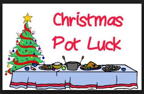 Christmas Potluck Clipart.