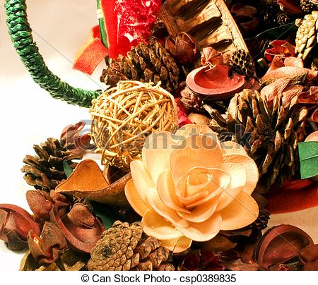 Stock Images of Christmas Potpourri 7.