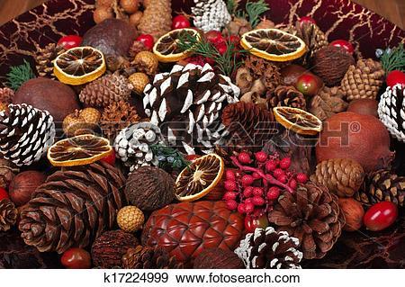 Stock Photograph of Christmas Potpourri k17224999.