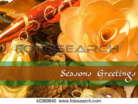 Stock Photography of Christmas Potpourri 9 k0389840.