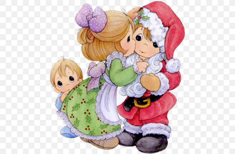 Precious Moments Christmas Precious Moments, Inc. Clip Art.