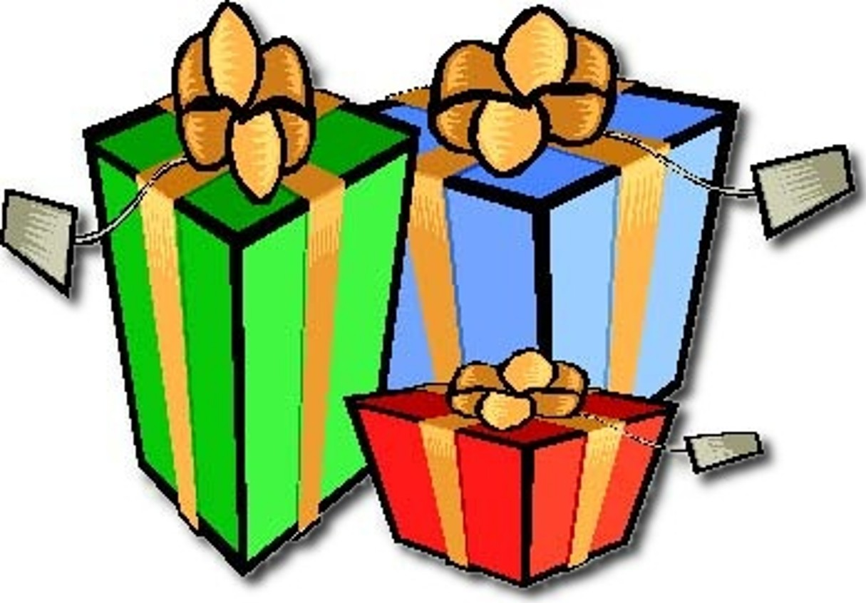 Animated Christmas Presents Clipart.