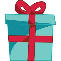 Christmas Gift Clip Art 3.