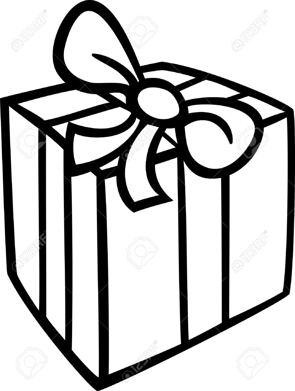 Christmas presents clipart black and white 2 » Clipart Portal.