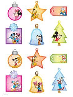 12 Free Printable Christmas Gift Tags.