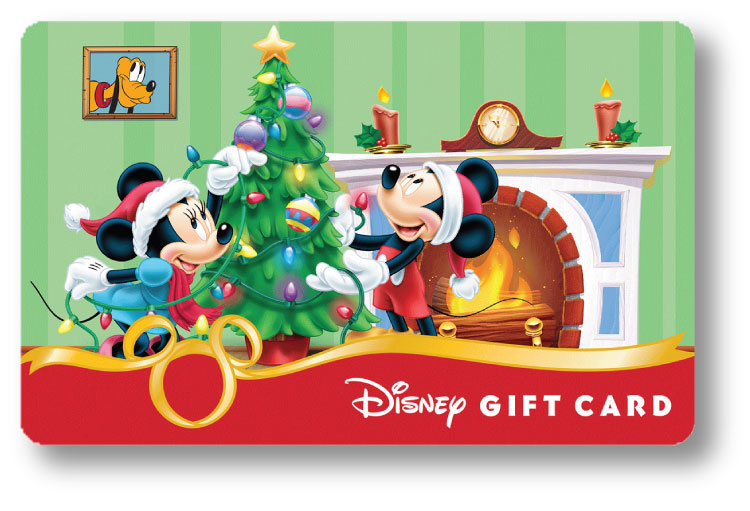 New Holiday Disney Gift Card Designs Available at Walt Disney.