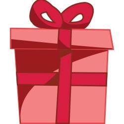 Christmas Gift Clip Art 6.