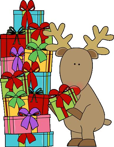 reindeer christmas clipart free #4