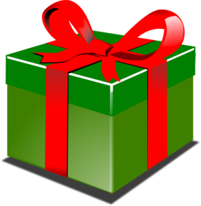 Christmas Present Clipart.