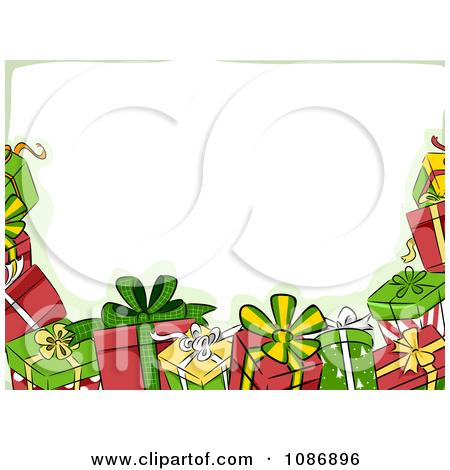Christmas Toys Clip Art Borders.