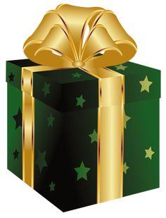 Christmas Presents Clipart Bord.
