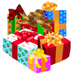 christmas presents clipart png #13