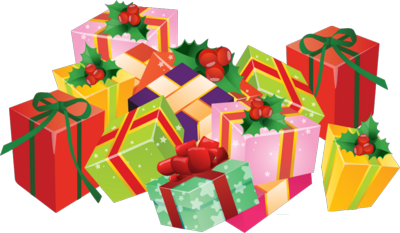 Christmas Presents Clipart Png.