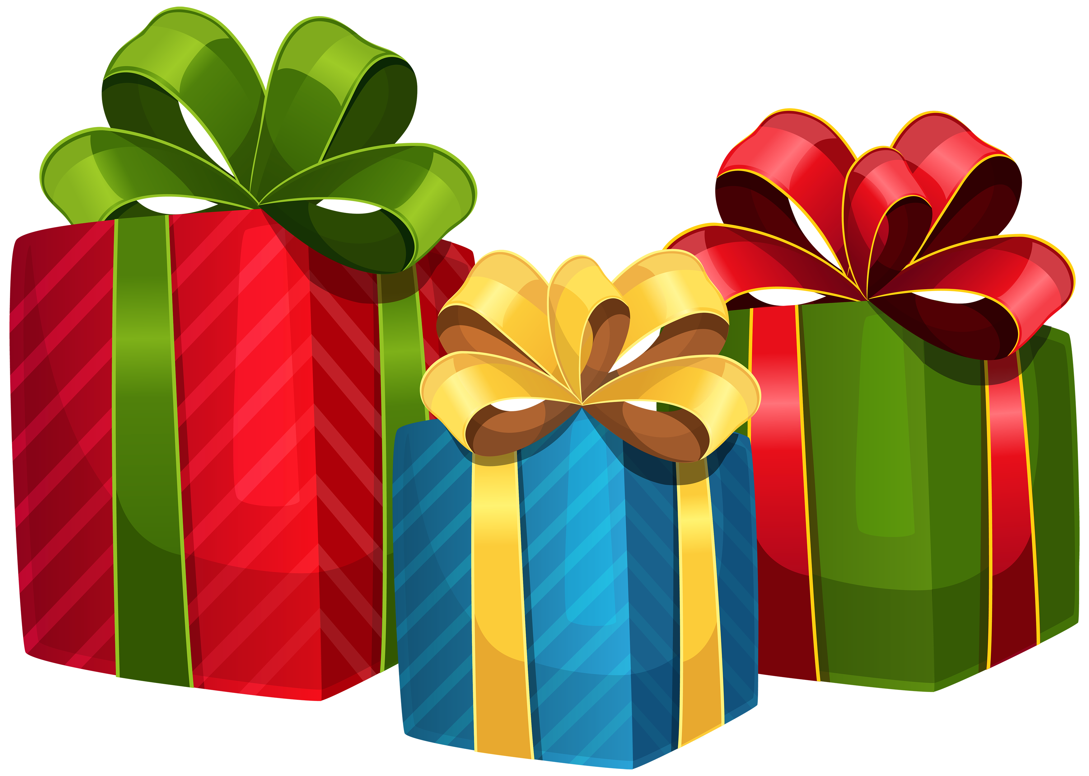 christmas presents clipart png #7