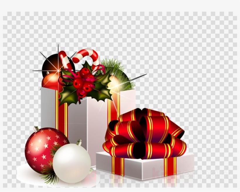 Christmas Gifts Png Clipart Santa Claus Clip Art.