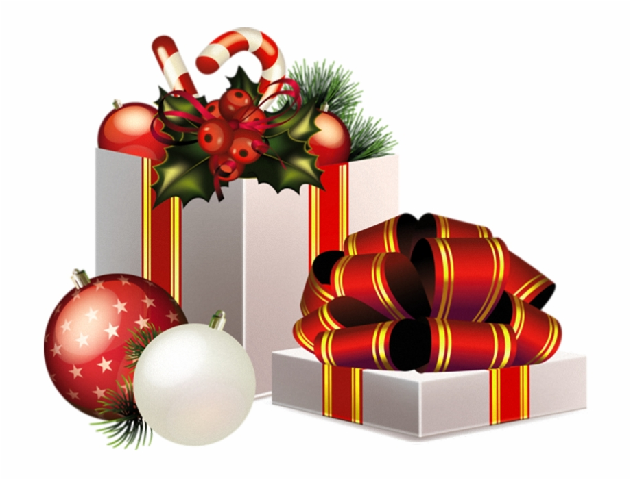 Christmas Transparent Png Gifts Decoration.