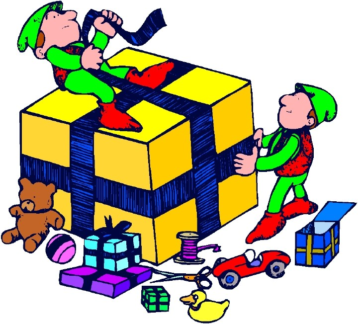 Christmas presents wrapped clipart 3 » Clipart Portal.