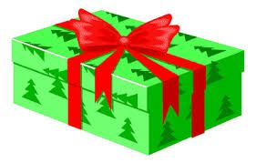 Image result for christmas present clipart.
