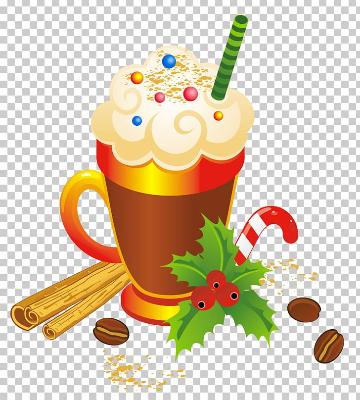 Flip Eggnog Milk Punch Cocktail PNG, Clipart, Art Christmas, Candy.