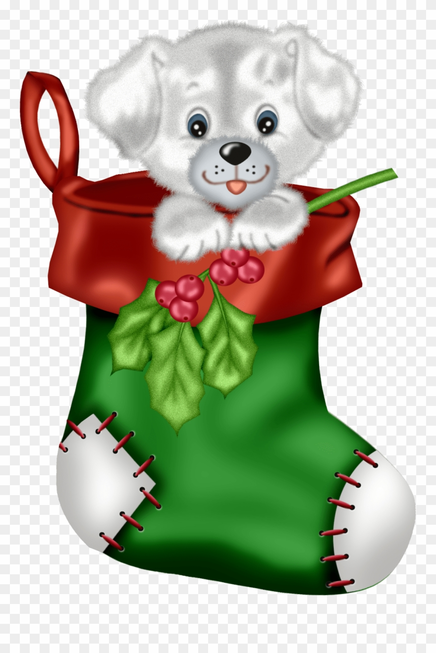 Clipart Christmas Stocking Merry Christmas And Happy.