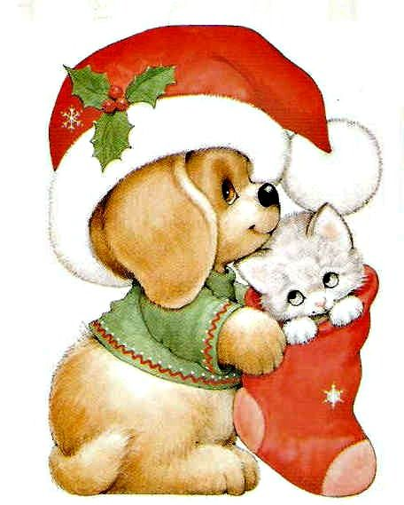 Free Christmas Puppy Cliparts, Download Free Clip Art, Free.