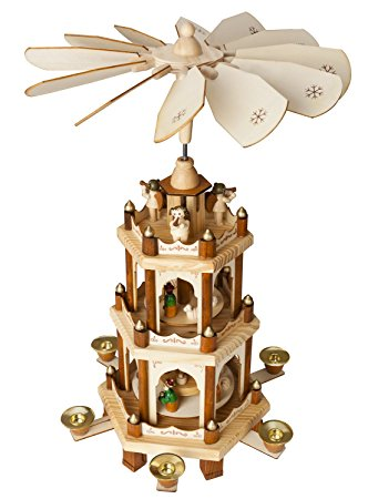 Amazon.com: Christmas Decoration Pyramid 18 Inches Nativity Play 3.