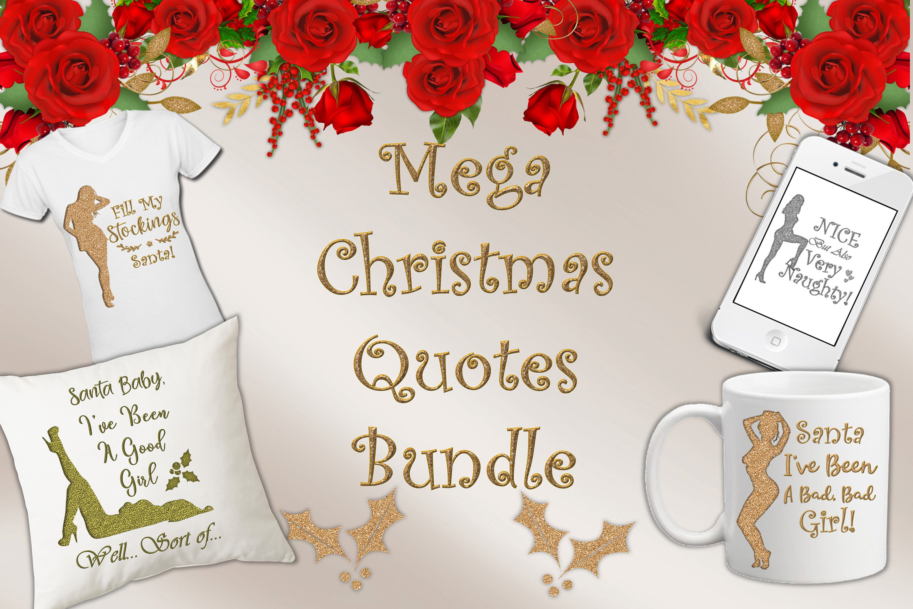 Christmas Quotes Clipart.