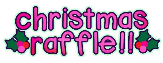 Win Cash for Christmas raffle winners.